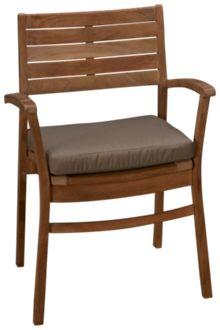 Scancom Rinjani Stacking Chair with Cushion