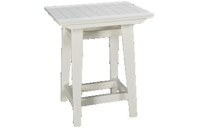 Seaside Casual Furniture Modern Square Balcony Table