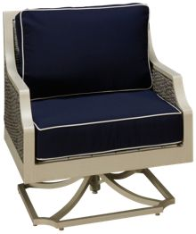 NorthCape Mooring Swivel Rocker with Cushions