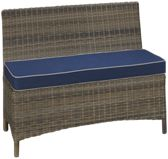 NorthCape Bainbridge Outdoor Dining Bench with Cushion