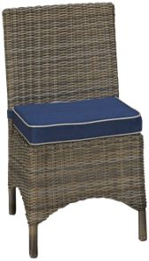 NorthCape Bainbridge Outdoor Dining Chair with Cushion