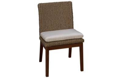 Jensen Leisure Ipe Coral Side Chair with Cushion