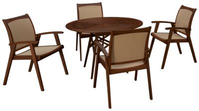 Product Image Unavailable ...  sc 1 st  Jordanu0027s Furniture & Jensen Leisure-Opal-Jensen Leisure Opal 5 Piece Outdoor Dining Set ...