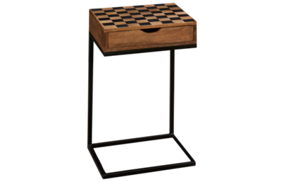 Jofran Global Archive Checkerboard Table with Storage