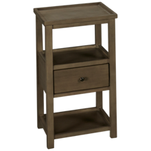 Coast To Coast Imports Cape Cod 1 Drawer Chairside Table
