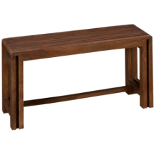 Jofran Global Archive Extendable Bench