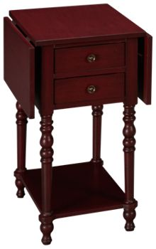 Coast To Coast Imports Sandals Drop Leaf 2 Drawer Accent Table