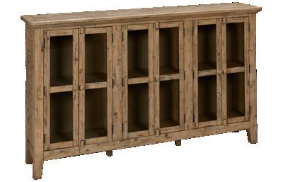 Jofran Rustic Shores 6 Door Cabinet