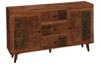 Jofran Urban Village 3 Drawer 2 Door Chest