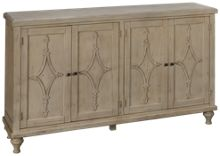 Coast To Coast Imports Hawthorne 4 Door Media Credenza