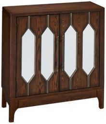 Coast To Coast Imports Devlin 2 Door Cabinet