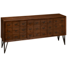 Coast To Coast Imports Oxford 3 Door Media Credenza