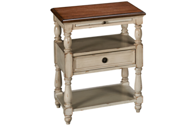 Coast To Coast Imports Accents 1 Drawer Chairside