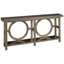 Coast To Coast Imports Starshine Console Table