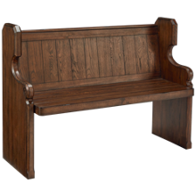 "Magnolia Home 42"" Pew Bench"