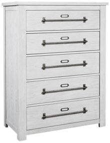 Accentrics Home Modern Authentics Five Drawer Chest