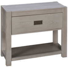 Accentrics Home Modern Authentics White Nightstand