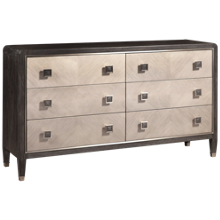 Accentrics Home City Chic 6 Drawer Dresser