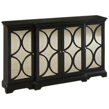 Accentrics Home Mirrored Accent Chest