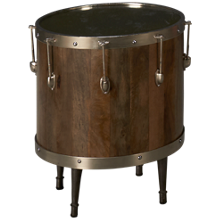 Accentrics Home Accent Drum Table