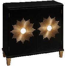 Accentrics Home Tru Modern Cabinet Starburst 2 Door