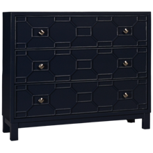 Jofran Matrix 3 Drawer Accent Chest