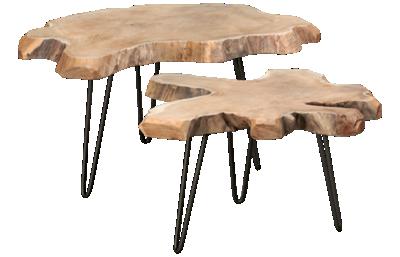 Star International Loom Nesting Coffee Table Set