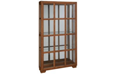 Pulaski Brantley Sliding Door Curio