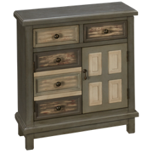 Coast To Coast Imports Accents 2 Door 2 Drawer Cabinet