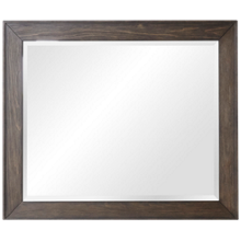 Accentrics Home Modern Authentics Dark Oak Mirror