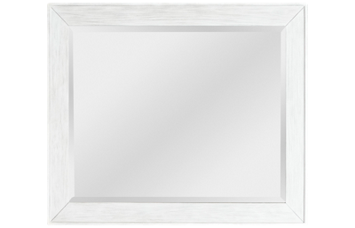 Accentrics Home Modern Authentics White Mirror