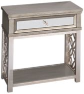 Accentrics Home City Chic 1 Drawer Nightstand