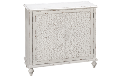 Accentrics Home Small Spaces 2 Door Carved Front