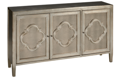 Stein World Antiqua 3 Door Cabinet with Mirror