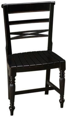 Trade Winds Raffles Wooden Side Chair