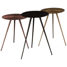 Jofran Carly 3 Piece Carly Accent Table Set