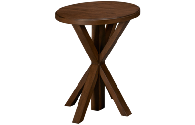 Accentrics Home Modern Authentics Plank Top End Table