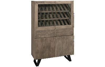 Accentrics Home Modern Authentics Wine Display Cabinet
