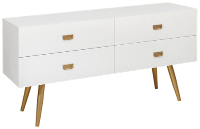 Accentrics Home Small Spaces 4 Drawer Chest