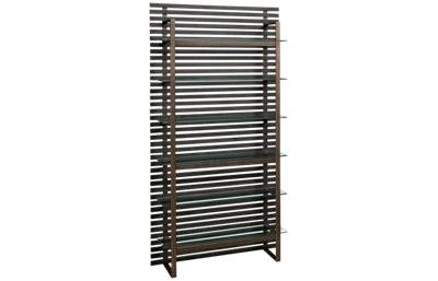 Accentrics Home Wood Slat Etagere