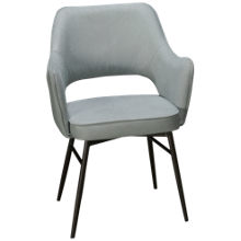 Accentrics Home Tru Modern Dining Chair Channel Back