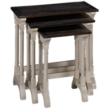 Sunny Designs Carriage House 3 Nesting Tables