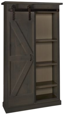 Westmoreland Woodworks Barn Door Bookcase