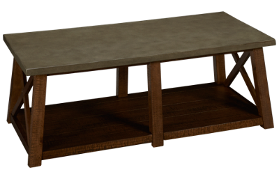 Accentrics Home Modern Authentics Cocktail Table