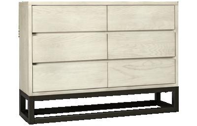 Accentrics Home Modern Authentics 6 Drawer Dresser