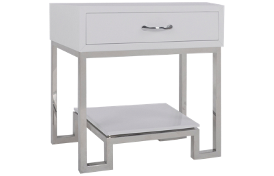 Accentrics Home Small Spaces 1 Drawer Chairside Chest