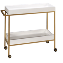 Accentrics Home Small Spaces Bar Cart