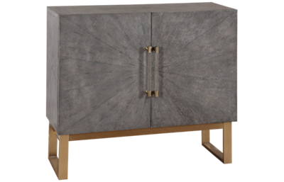 Accentrics Home Small Spaces 2 Door Bar Cabinet