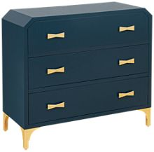 Accentrics Home Small Spaces 3 Drawer Clip Corner Chest