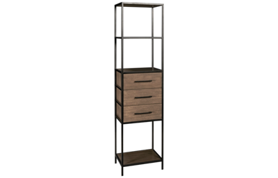 Accentrics Home Modern Iron Frame Shelf